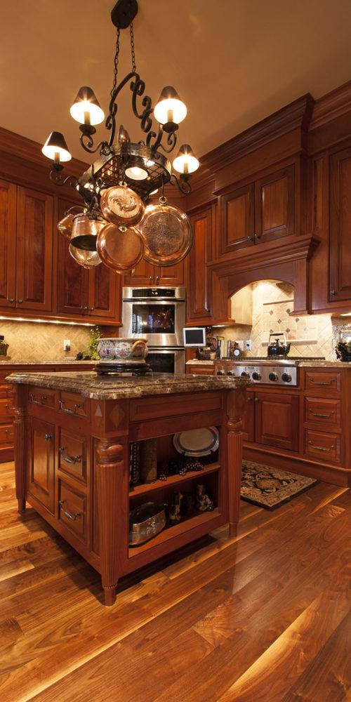 Wooded Kitchen Bar