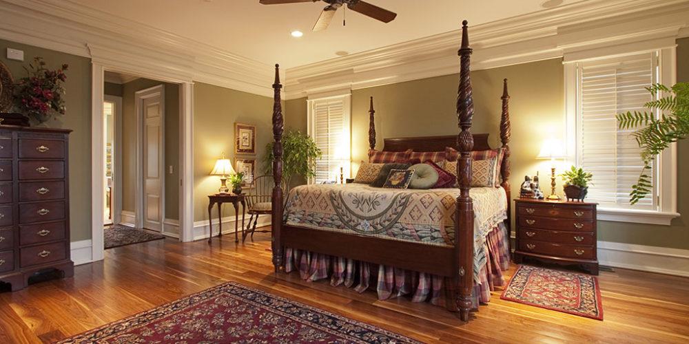 Bedroom with Fan