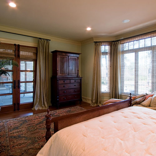 Master Bedroom with Outside Seating Area