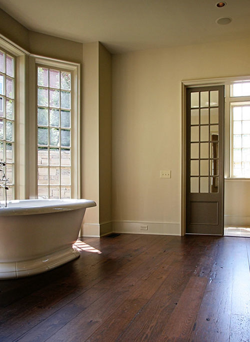 Bath by Window