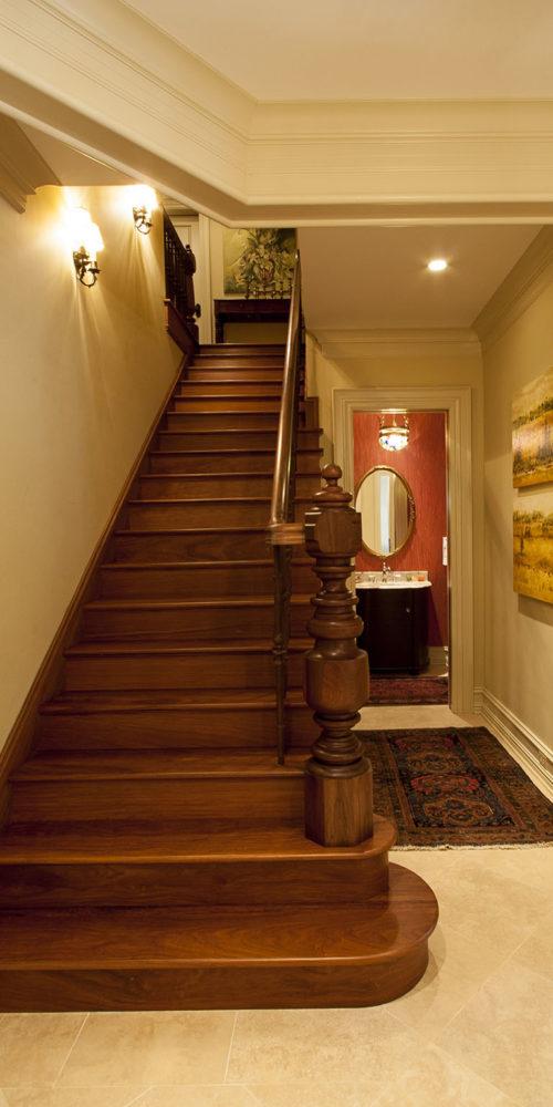 Lower-level Stairwell