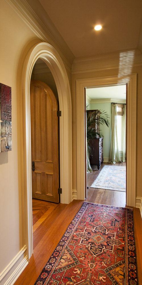 Hall with Door Open