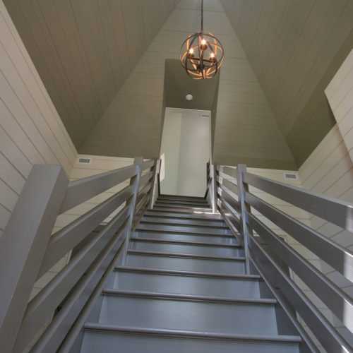 Gray Stairwell