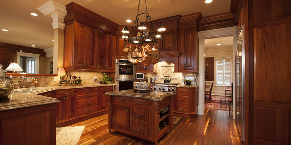 Wooded Kitchen