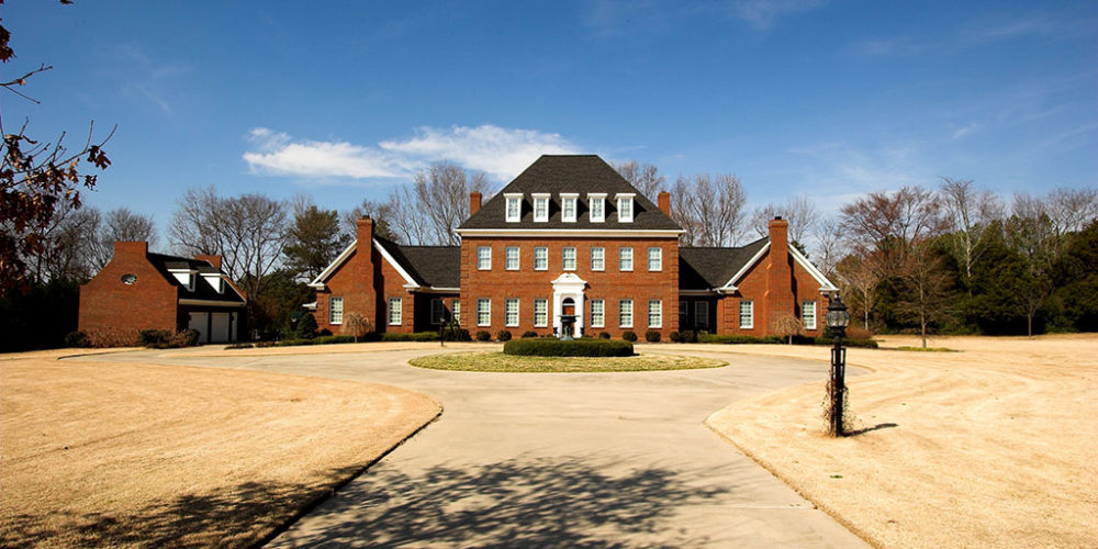 Exterior of Brick Home II